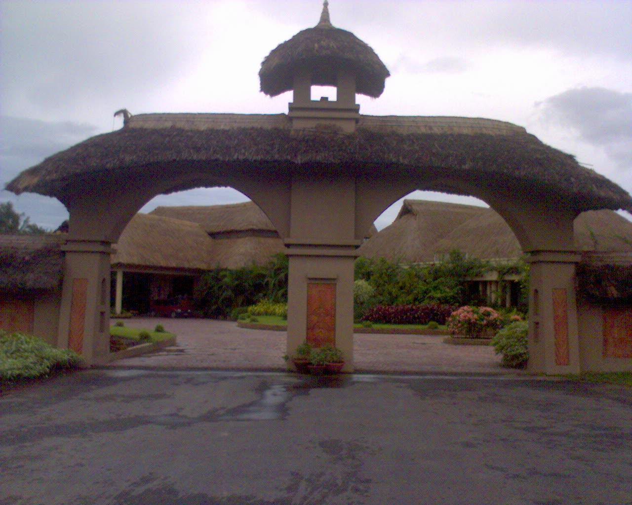 Vedic Village Entrance